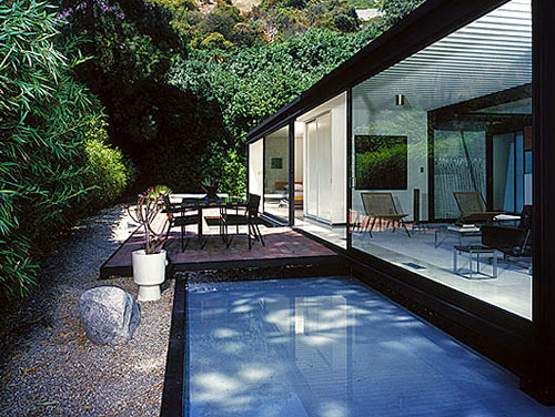 Pierre Koening's Case Study House #21 mid-century architecture