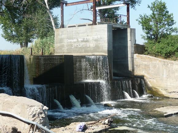 Река Волчья. Васильковка. Мини-ГЭС