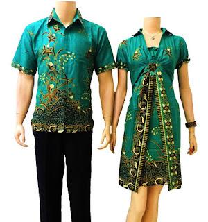 Baju Batik Pasangan Model Batik Modern Terbaru Trend Terkini BAJU