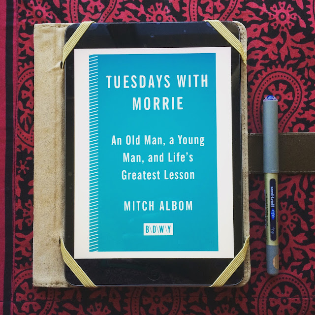 an analysis of the book tuesdays with morrie by mitch albom Rhetorical analysis for my selection i have chosen tuesdays with morrie tuesday's with morrie is an excellent example of how to use pathos in writing it is a memoir written by mitch albom in 1997.