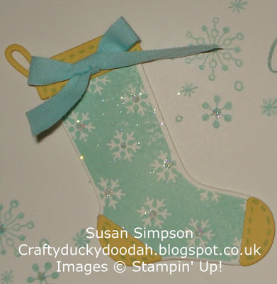 Stampin Up! UK Independent  Demonstrator Susan Simpson, Craftyduckydoodah!, Hang Your Stocking, Christmas Stockings Thinlets Dies, Perpetual Birthday Calendar, Supplies available 24/7,