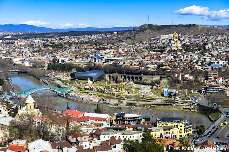 Tbilisi Aerial View Things to Do in Tbilisi Georgia