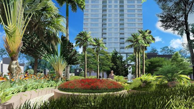 Công viên xanh chung cư ICID Complex