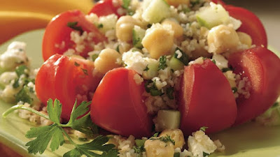 Middle Eastern Bulgur Salad