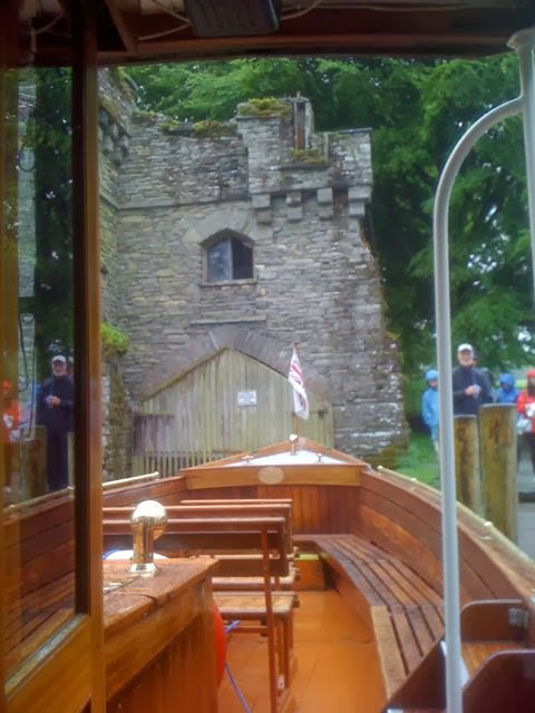 Wray Castle boat house