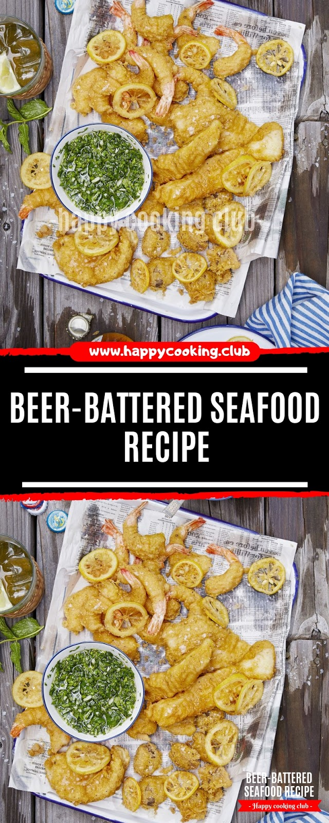 Beer-Battered Seafood Recipe