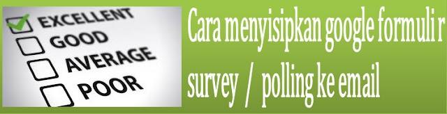 Membuat survey untuk dikirim ke ratusan atau ribuan alamat email mungkin terdengar sepert Cara menyisipkan survey atau polling Google Formulir ke email