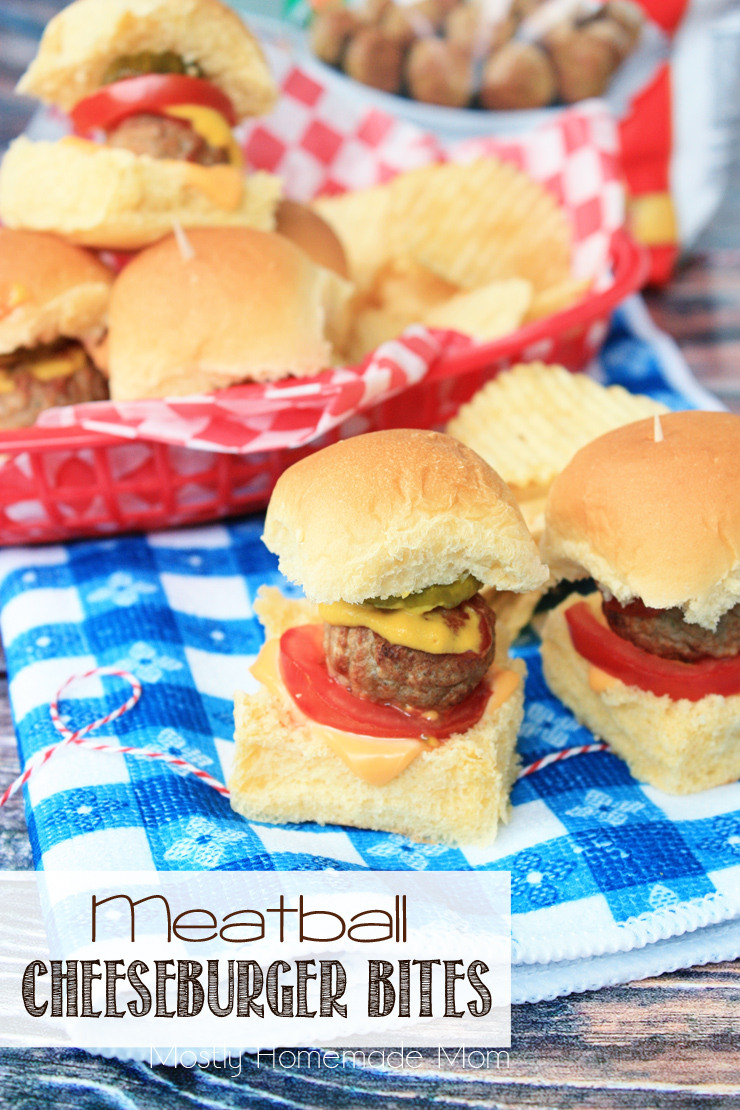 Meatball Cheeseburger Bites