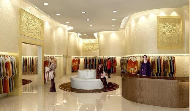 thiết kế shop thời trang nữ đẹp - mẫu số 8