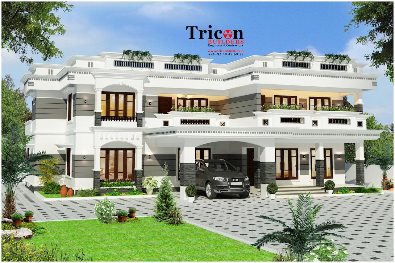 6 Bedroom Luxury Kodungallur Thrissur Villa