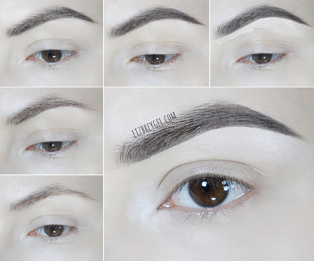 how to fill in your eyebrows eye brow simple easy makeup tutorial