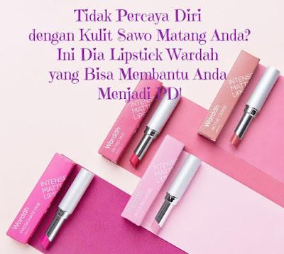 Lipstik untuk kulit sawo matang