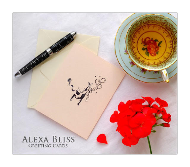Critter greeting cards by Pinkers and Mumm for Alexa Bliss