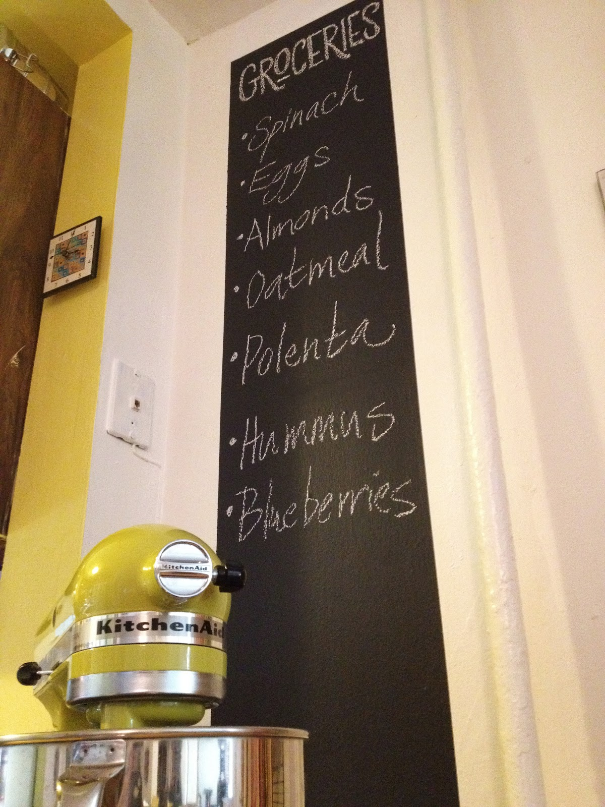 Chalkboard In Kitchen Cabinets Warehouse Bexcetera A Wall Or Two