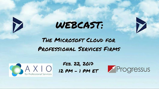 The Microsoft Cloud for Professional Services Firms