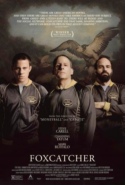 foxcatcher movie poster