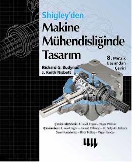 Shigley'den Makine Mühendisliğinde Tasarım Kitap + Çözümler 8. Baskı İndir - Pdf