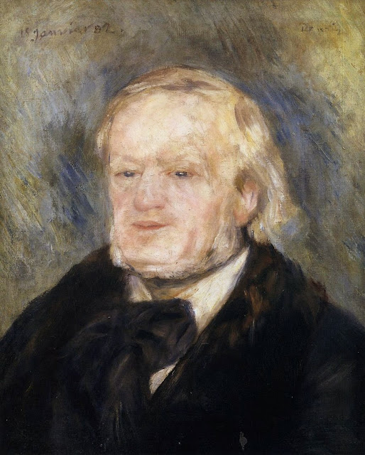 Pierre-Auguste Renoir, Portrait of Richard Wagner (1882)