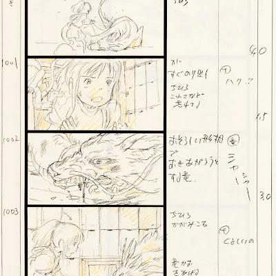 NEW STOCK! Studio Ghibli Storyboards, Spirited Away