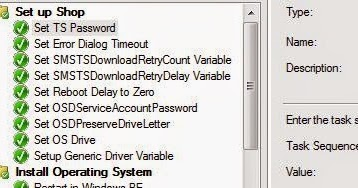 Kevinisms: Password Protect Task Sequence