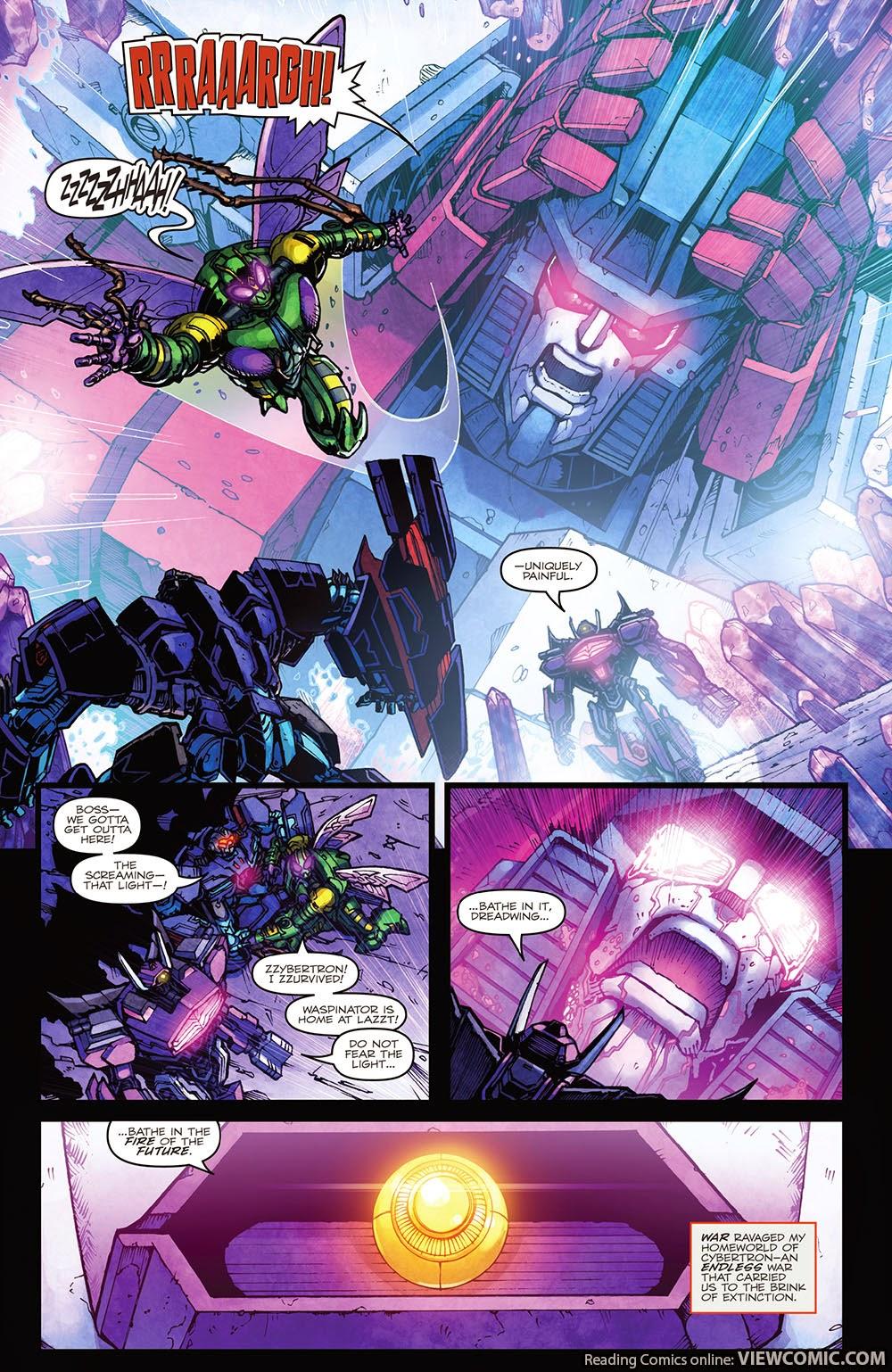 The Transformers – Dark Cybertron Vol  01 (2014) | Viewcomic reading