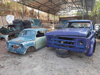 For Sale Kabin Dodge D400 Biru and Viking 1964 ijo ... Hotline 0811310503