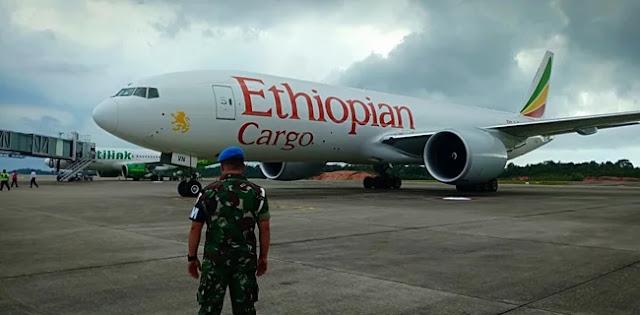 TNI Daratkan Paksa Pesawat Asing