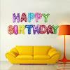 Balon Foil Huruf HAPPY BIRTHDAY RAINBOW