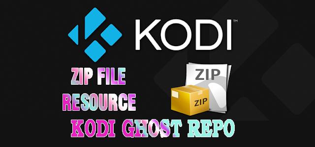 Kodi Ghost Repository  Zip File Download