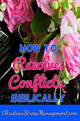 How to resolve conflicts biblically