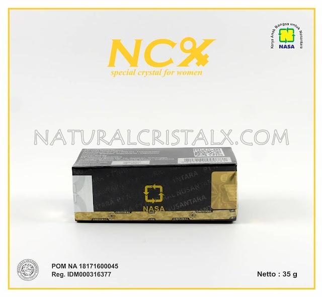 ncx nasa keputihan pada wanita POM NA 18171600045