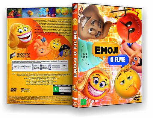 CAPA DVD EMOJI - O FILME 2017