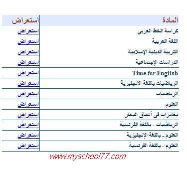 كتب الوزارة للصف الخامس ترم أول 2020 كتب المدرسة جميع المواد حكومى ولغات