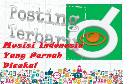 Ilustrasi Musisi Indonesia Yang Pernah Dicekal - Dipopedia