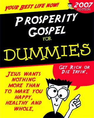 Prosperity gospel for dummies book picture