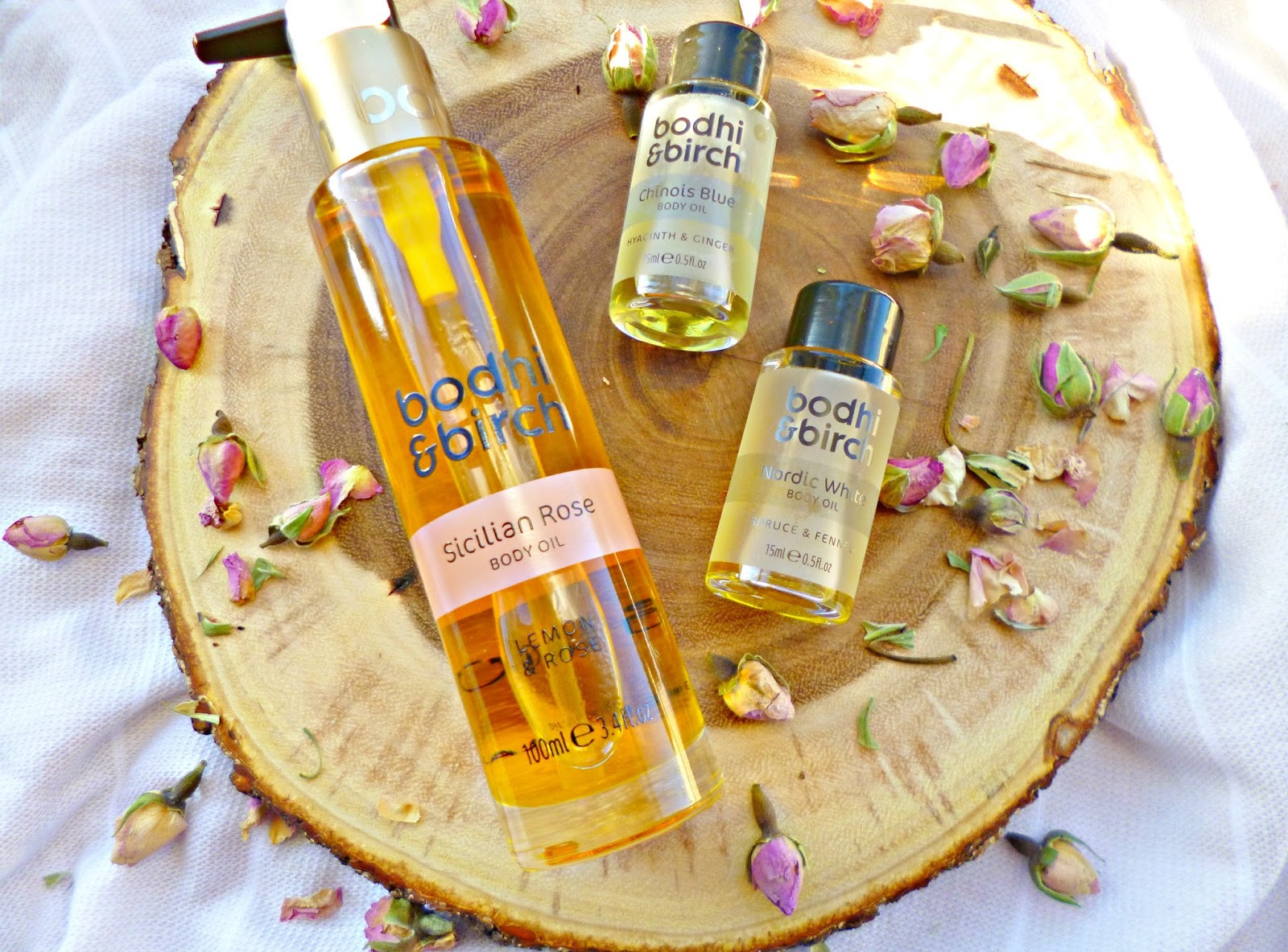 New in: Bodhi and Birch Body oil collection