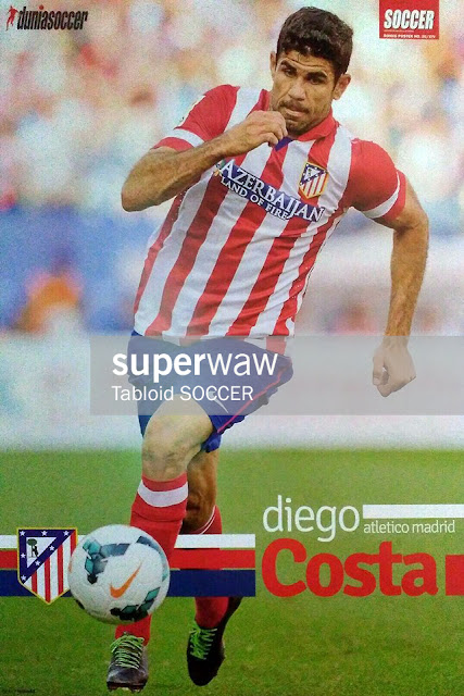 Diego Costa Atletico Madrid 2013