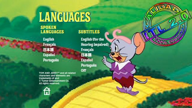 Tom Y Jerry y El Mago de Oz [DVDR Menu Full] Español Latino [ISO] NTSC Descargar
