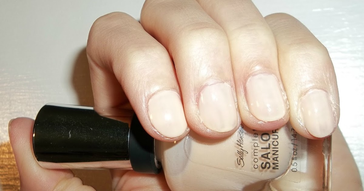 "Perfectly Polished 12: Perfectly Polished 12: Sally Hansen ""Peachy Keen"""