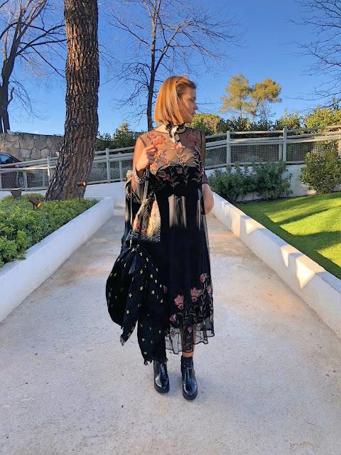 Rock & Romantic Dress   Outfit Inspiration