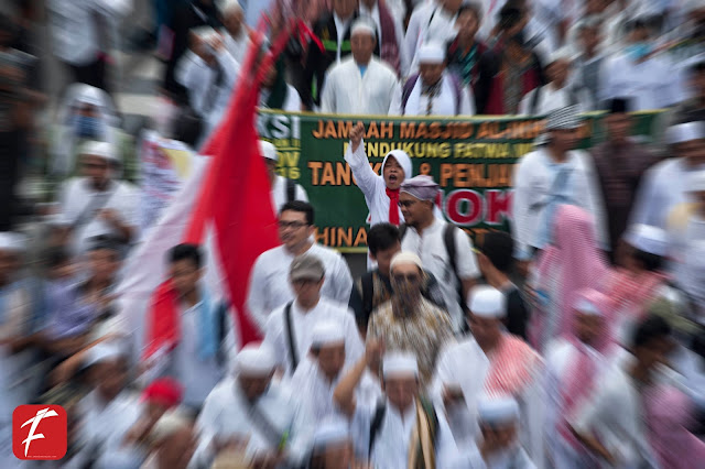 Photo : Hawa dalam Aksi Bela Agama  411