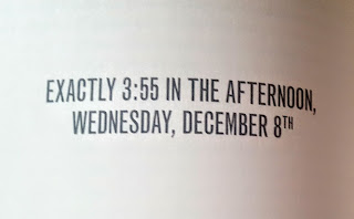 Exactly 3:55 in the afternoon - example of how we see the times in Ginny Moon