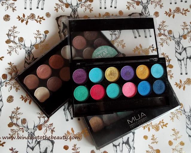palety cieni makeup academy