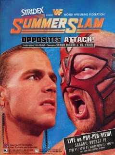 WWF / WWE SUMMERSLAM 1996 - Event Poster