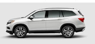 Honda Pilot Competitors (pricing):  Mazda CX-9, Dodge Durango, GMC Acadia