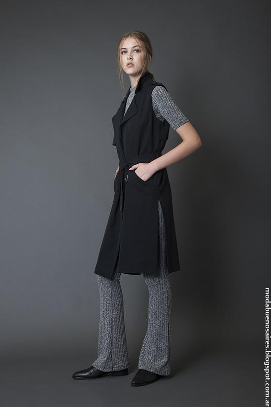 Chalecos invierno 2016 ropa de mujer. Moda invierno 2016.