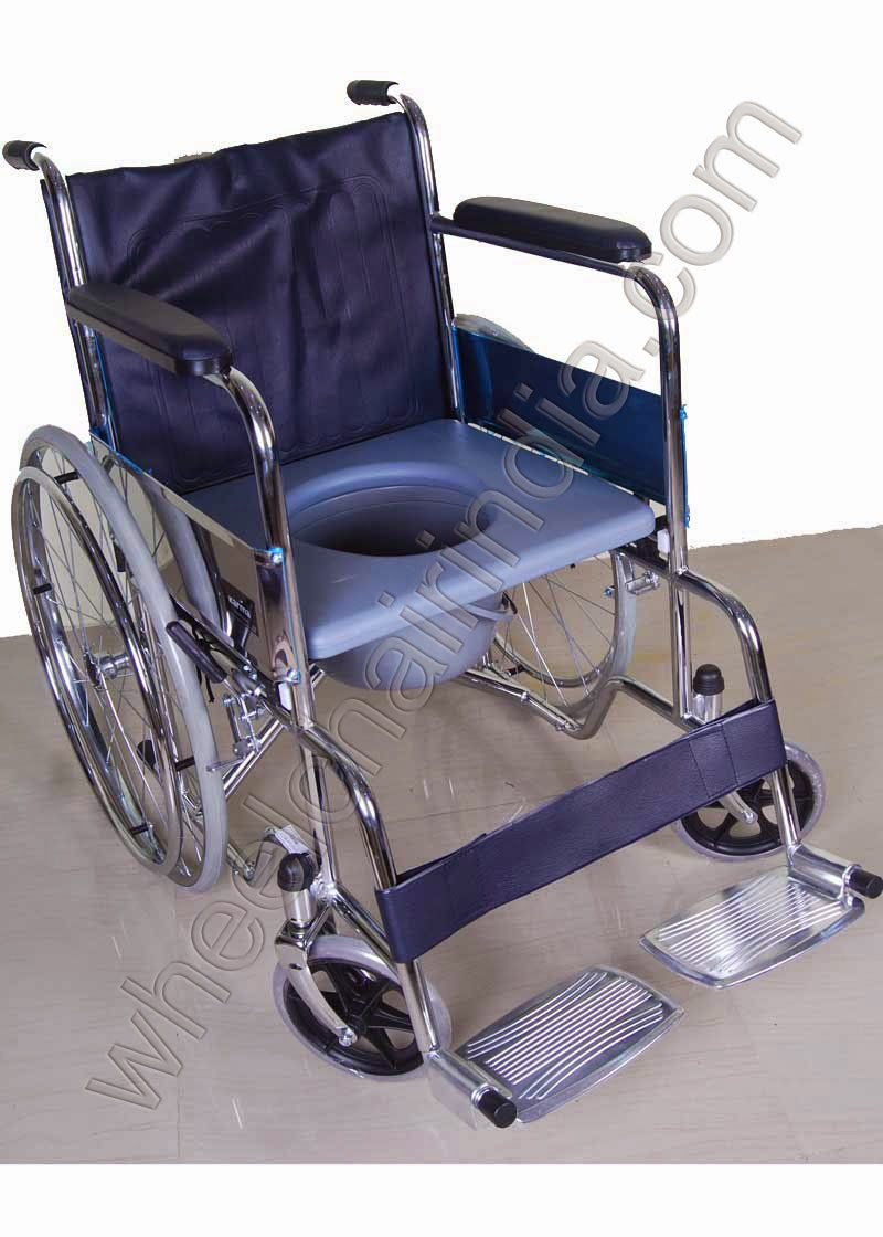 Commode Wheelchair For Disability Users Wheelchair India