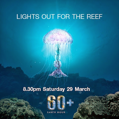 Earth Hour Lights out for the Reef