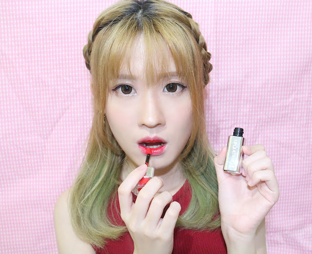 VOV Super Fitting Lipquid #06 Signature Red Review