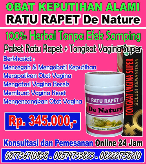 Obat Perapat Liang Miss V De Nature  | DENATURE SHOP CENTER